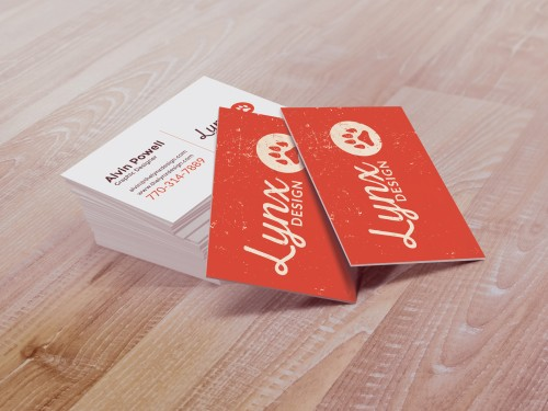 Lynx Design Business cards